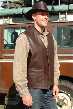 Brown Country Gilet